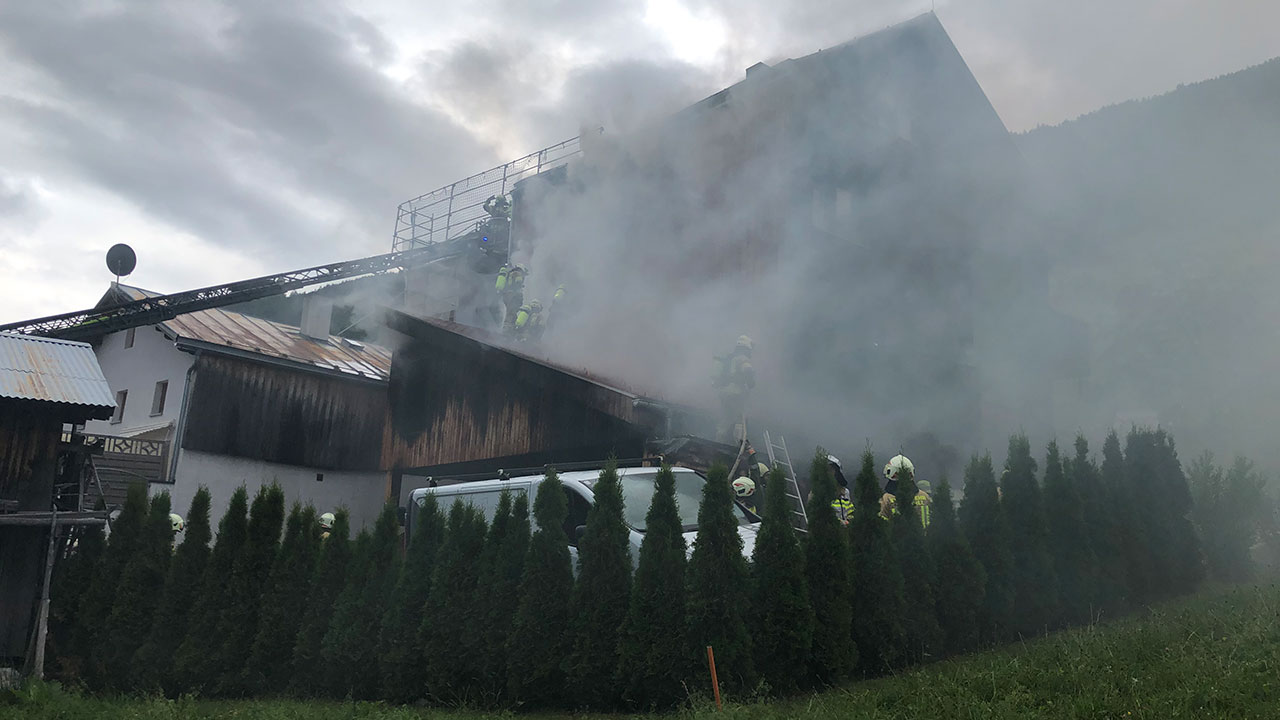 Brand EFH in Tobadill